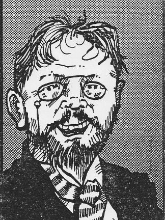 A. P. Chekhov, drawn by Joseph Brutsman